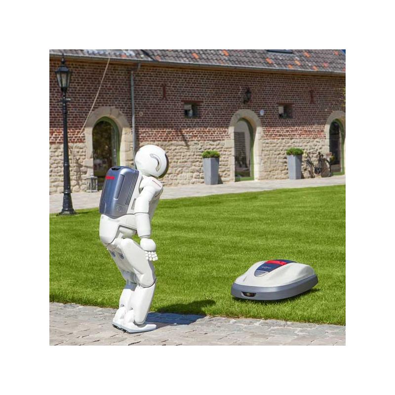 hrm 310 Model 323 condition nieuw robotmaaier honda miimo hrm 310 type accu :  li-ion 21,6 v- 2,0 ah gazonoppervlak : 2200 m² type mes : 3 uitslaande bladen.