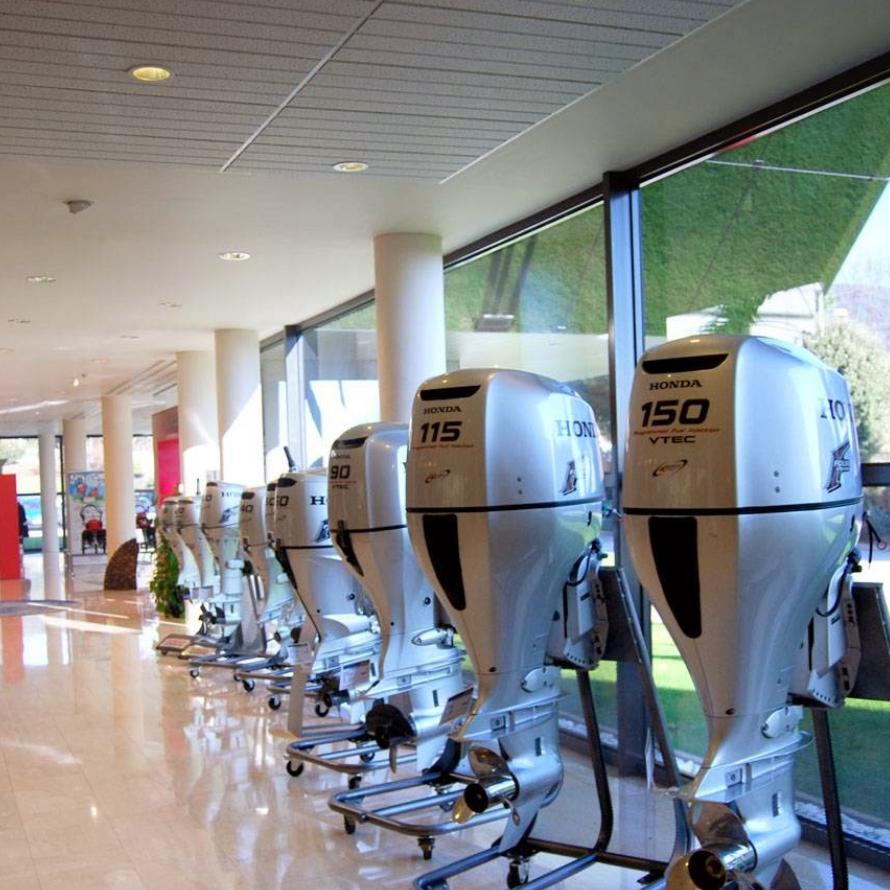 Exposición Honda Marine