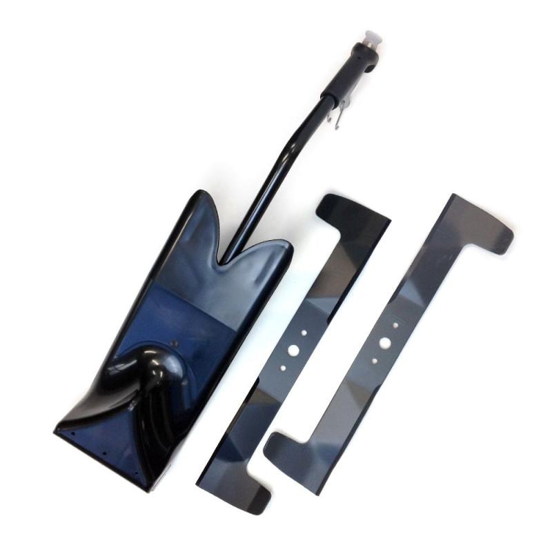 Kit mulching honda hf2417 con cuchilla honda es official - Kit mulching universel ...