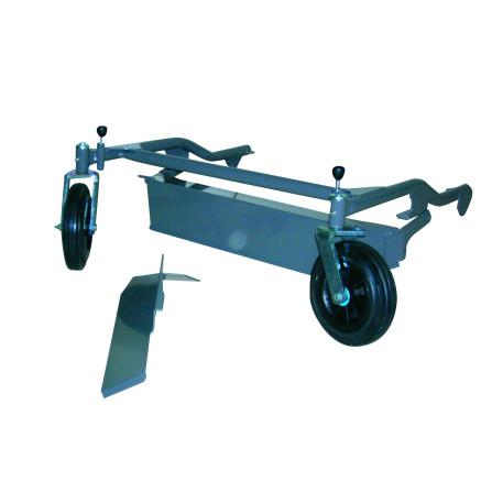 Ruedas frontales giratorias para UM659