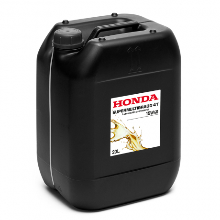 Lubricantes-Aceite sintético Honda SUPERMULTIGRADO 4T 15W40 20 litros