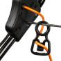 Cortacésped eléctrico Honda HRE 370 (detalle del portacables)